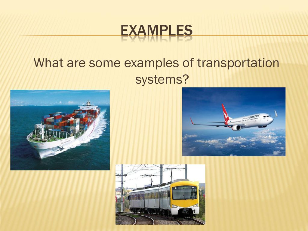 Transportation Technology Part 1 - ppt download