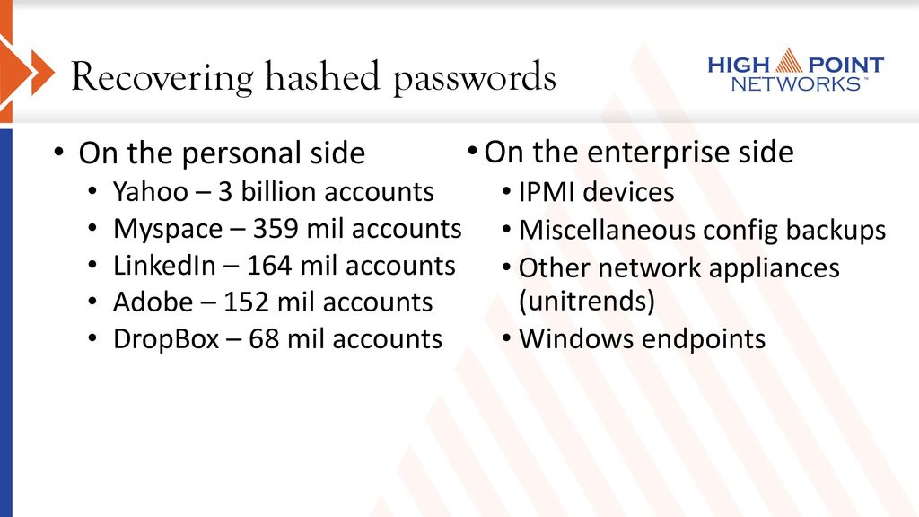 Password Cracking 101 Jamie Maguire Thank you all for coming