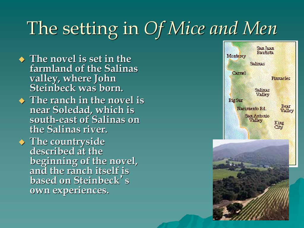 salinas valley of mice and men