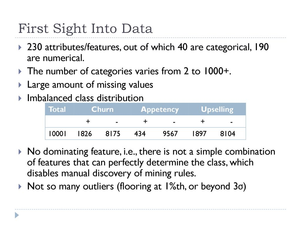 Data Mining Course Project - ppt download