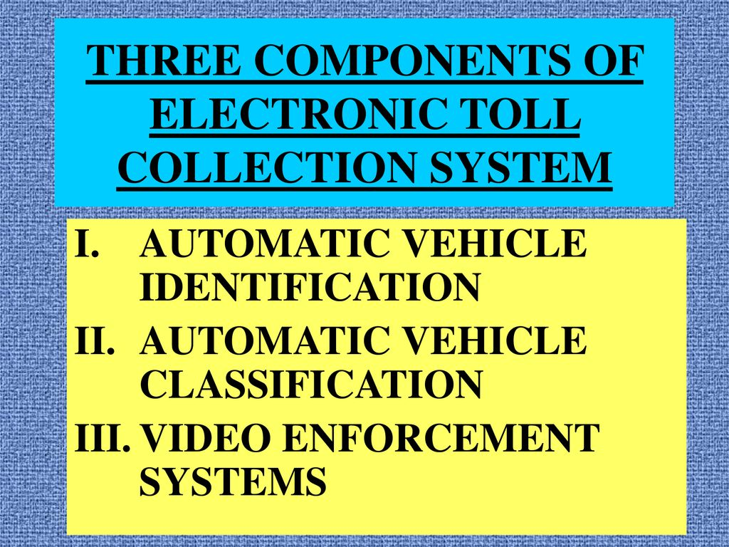 Introduction: The Electronic Toll Collection (ETC) is a technology