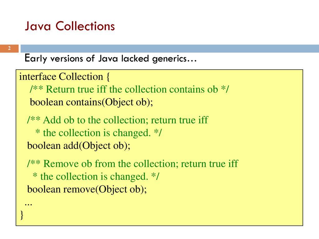 Java Generics Lecture 22 CS2110 – Fall ppt download