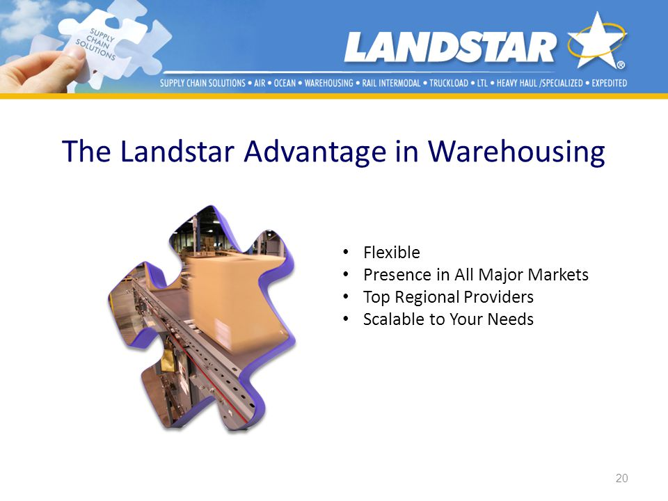 The Landstar Advantage in Warehousing