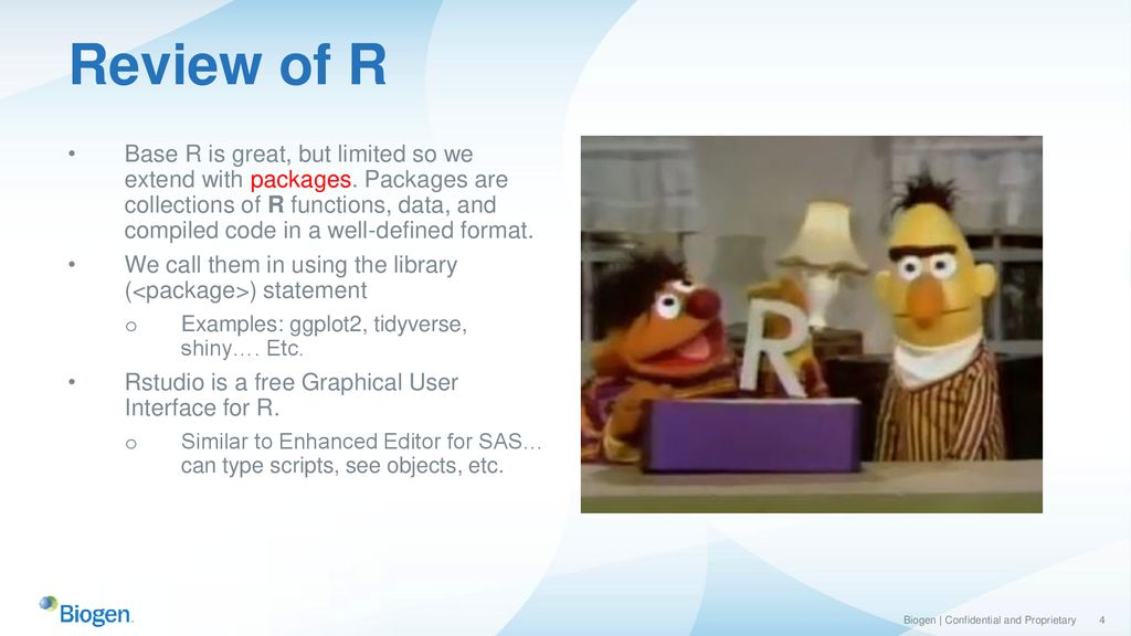 A Gentle Introduction to R from a SAS Programmer's Perspective - ppt