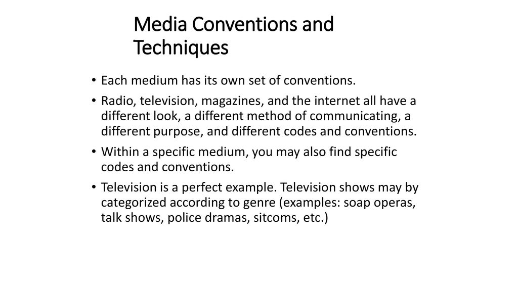 Deconstructing Media  - ppt download