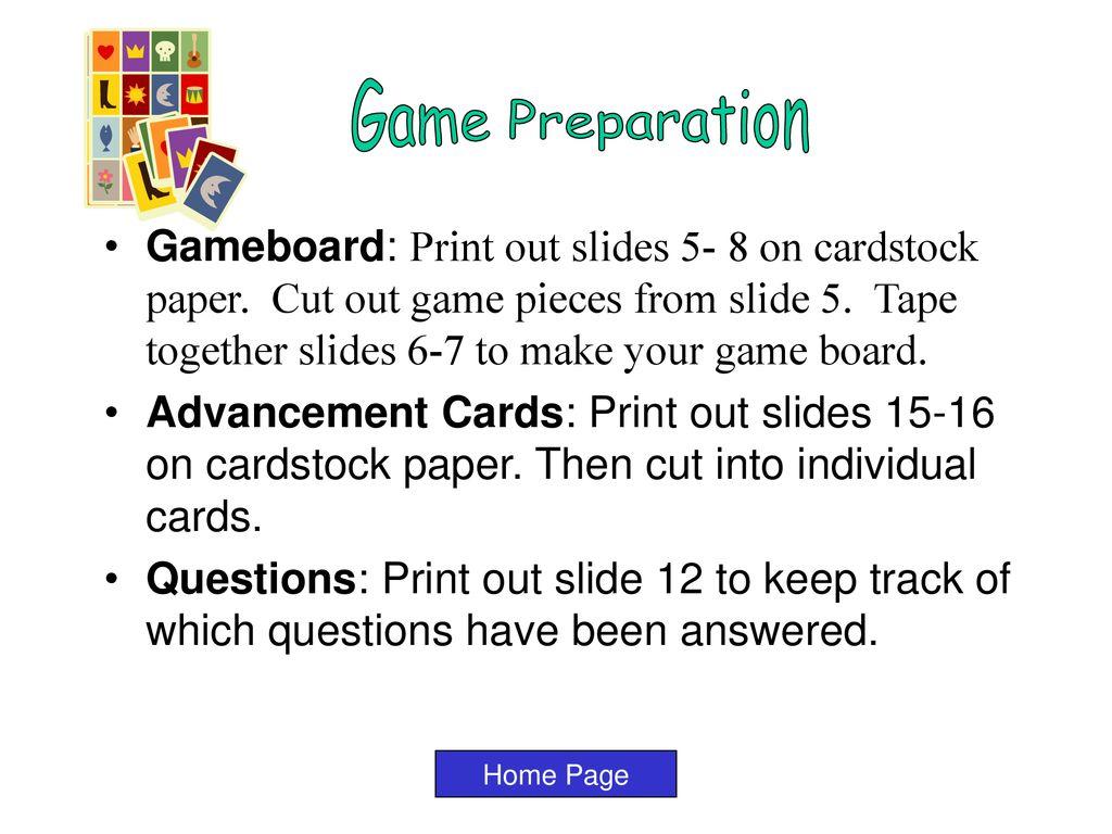 A Homemade PowerPoint Game By Jahmia Algahmie Salina Elementary