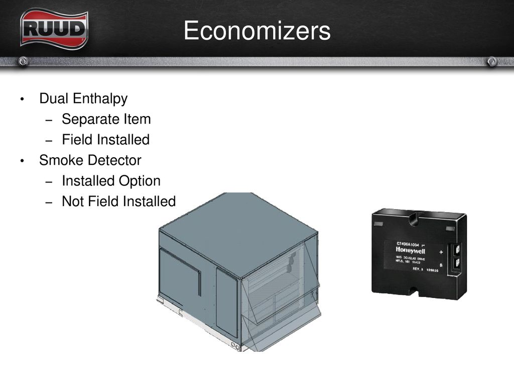 Factory Options, Accessories & Economizers - ppt download