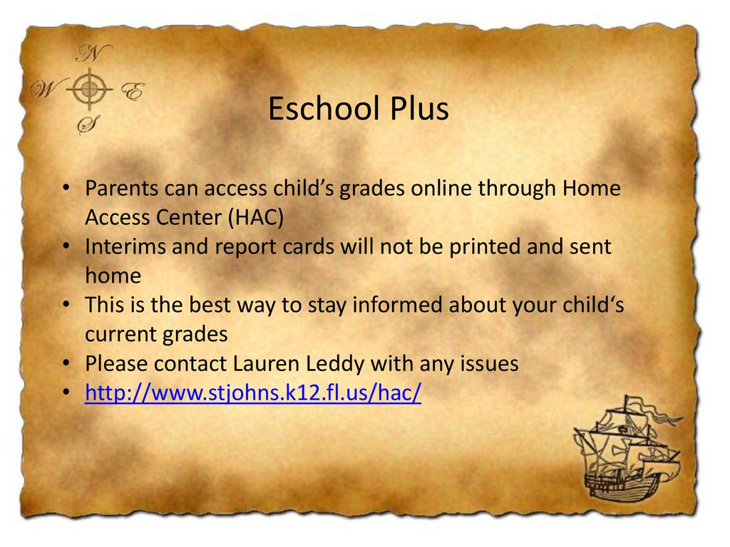 Eschool Home Access