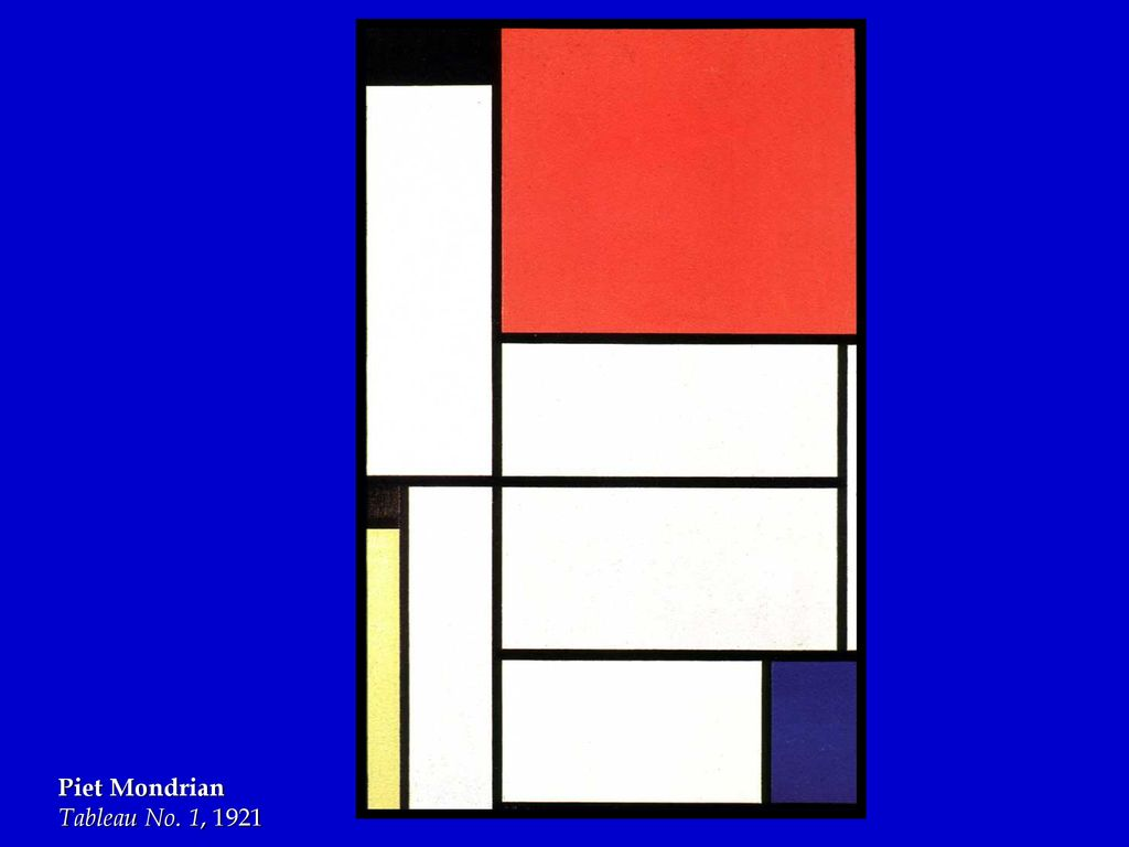 Piet Mondrian Ppt Download