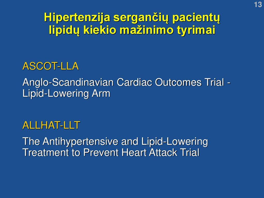 hipertenzija sergančių pacientų amžius)