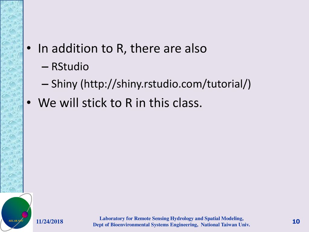 An Introduction to R Prof  Ke-Sheng Cheng - ppt download