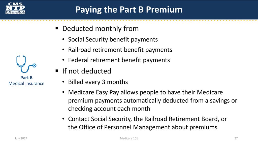 Medicare Medicare 101 provides an overview of the Medicare Program