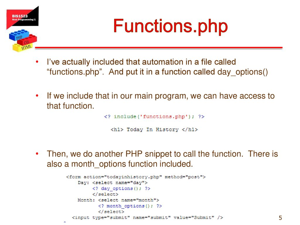 php today function