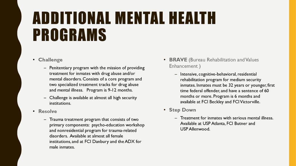 Residential Drug Abuse Program (RDAP) - ppt download