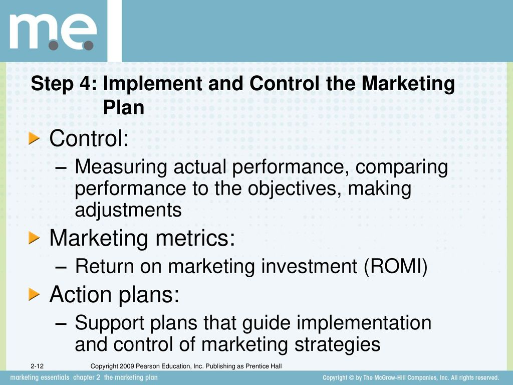 Chapter 2 the marketing plan Section 2 1 Marketing Planning
