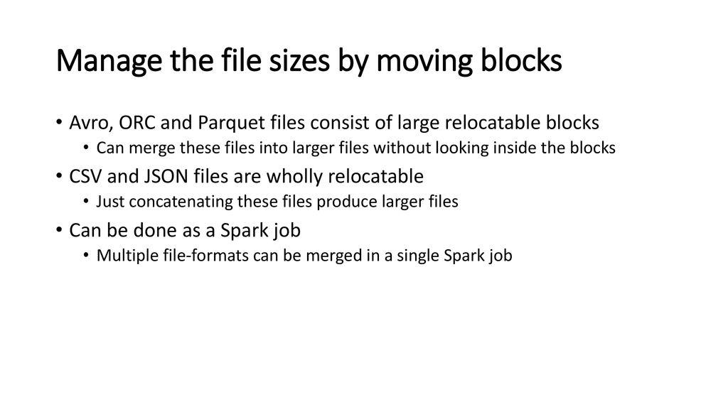 SETL: Efficient Spark ETL on Hadoop - ppt download
