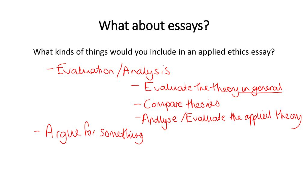 Purpose Of Thesis Statement In An Essay What Kinds Of Things Would You Include In An Applied Ethics Essay High School Essays Samples also Essay Thesis Statement What Are The Key Parts Of Each Theory You Need To Remember For  Good Research Websites