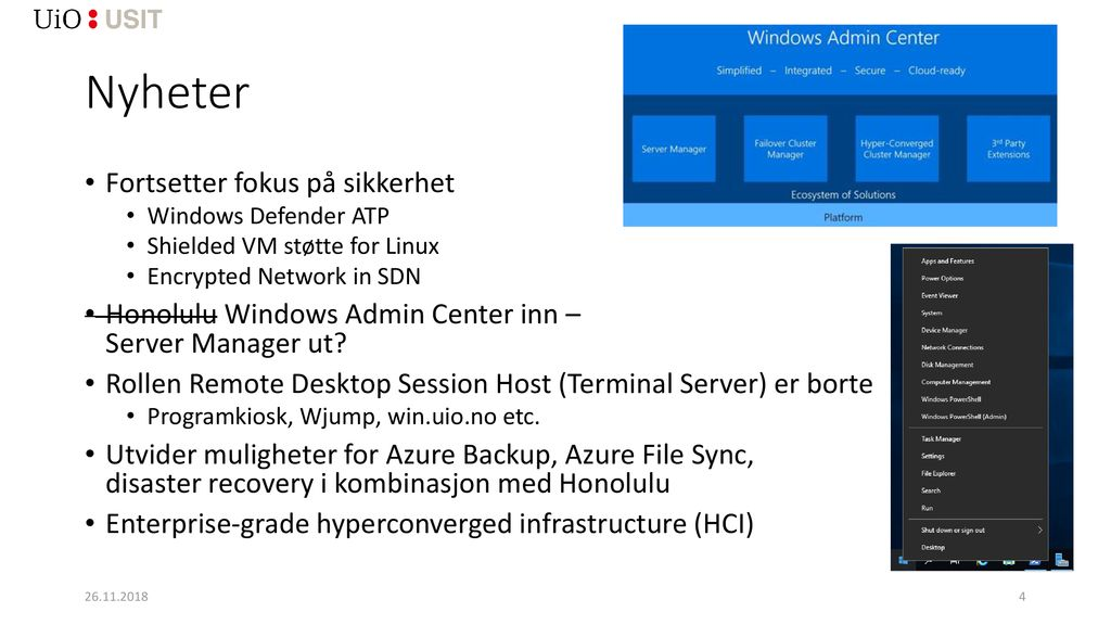 Windows Server 2019 Petter Haavin, KIA ppt download