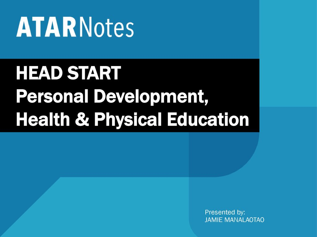 Personal Development, Health & Physical Education - ppt download