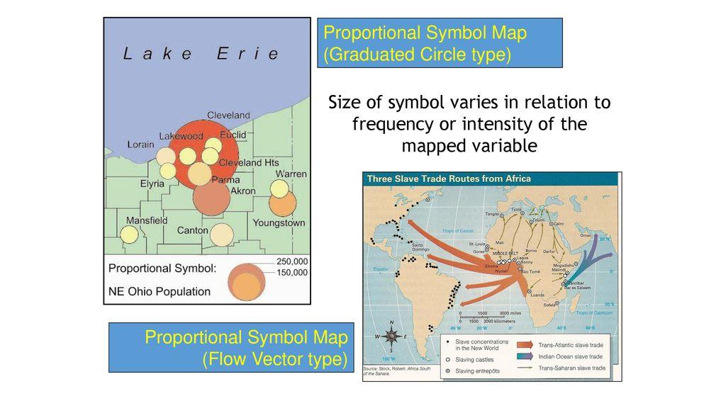 Types of Maps Choropleth Dot Distribution Proportional Symbol ...
