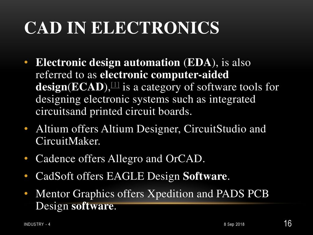 4th Industrial Revolution Ppt Download Cadsoft Eagle Is An App For Designing Printed Circuit Boards It Has Cad In Electronics