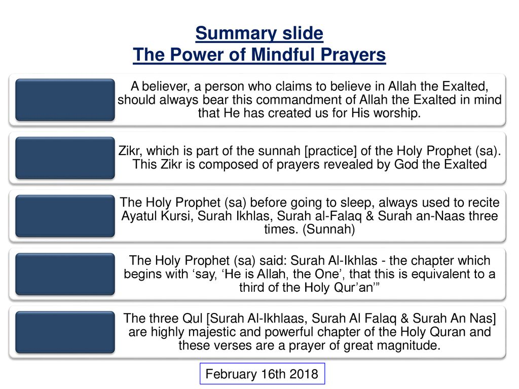 The Power of Mindful Prayers - ppt download