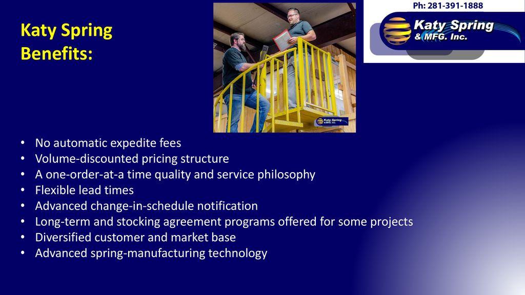 Contacts: Carl Slack Shop Supervisor James West President/Principal
