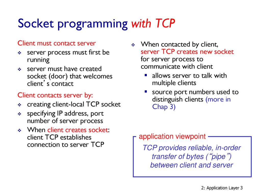 Socket programming - Java - ppt download