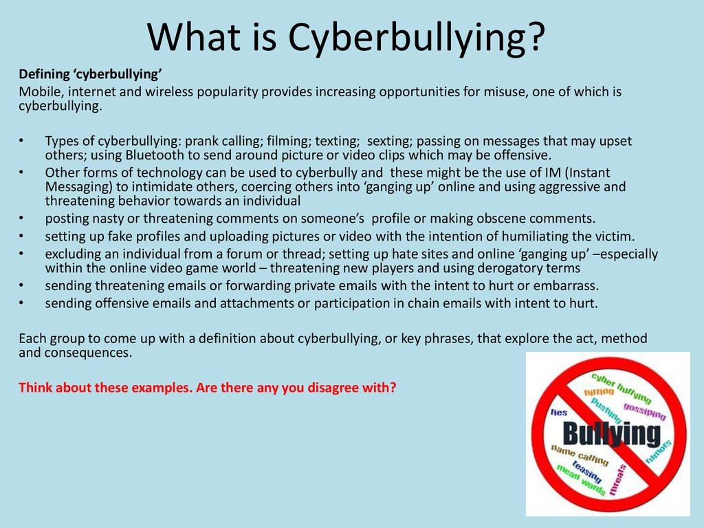 dangers on the internet cyberbullying - ppt download
