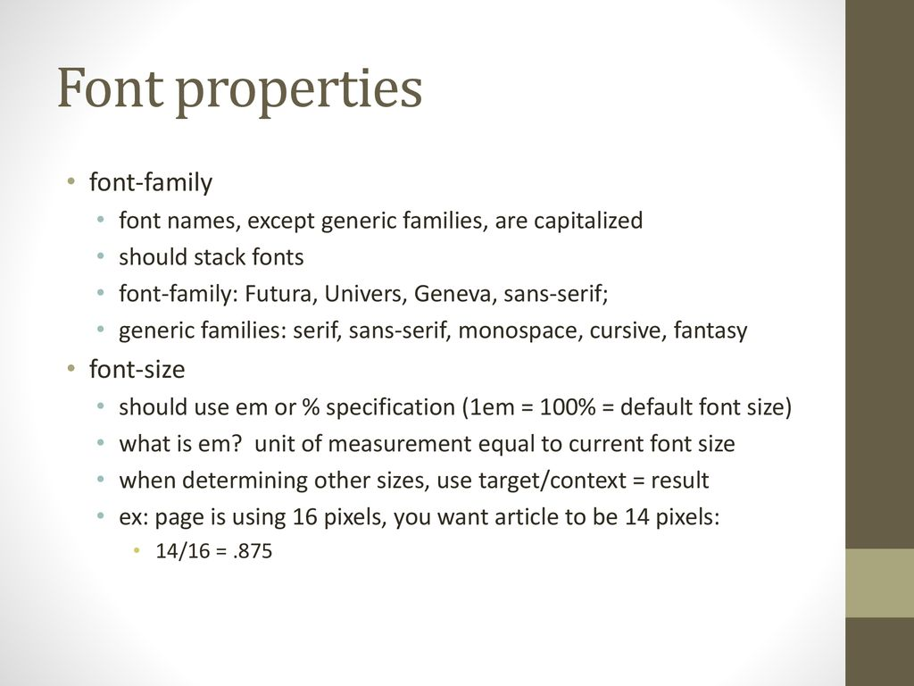 CSS Style Sheets: Intro - ppt download