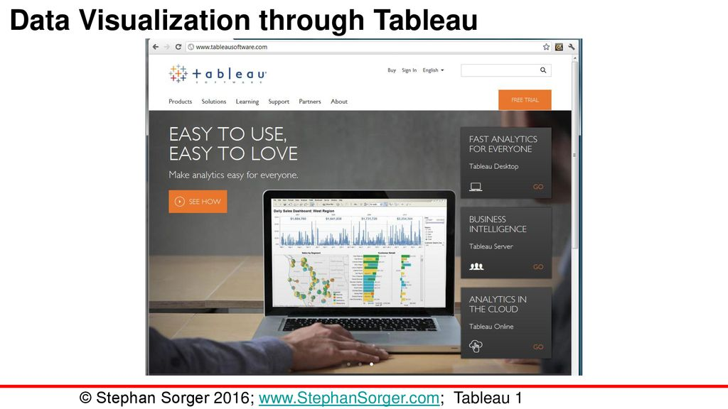 Data Visualization through Tableau - ppt download