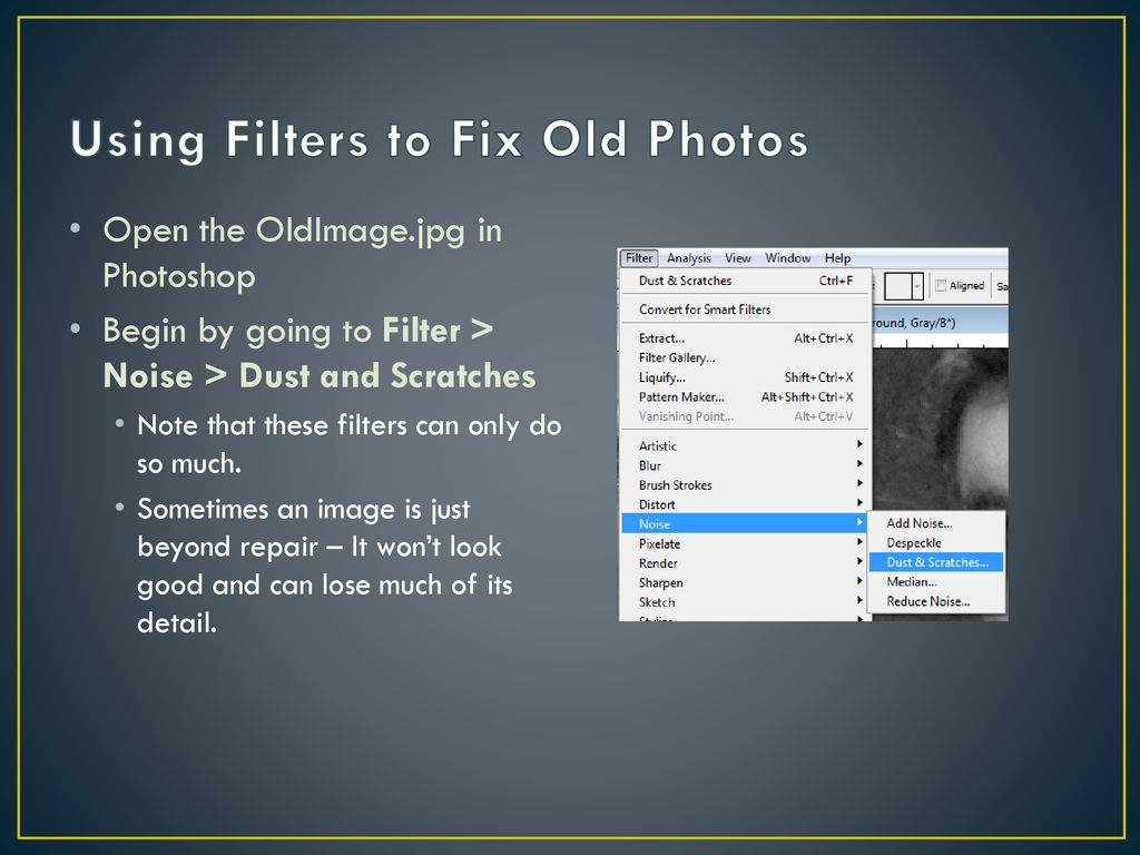 Photoshop Styles & Filters - ppt download