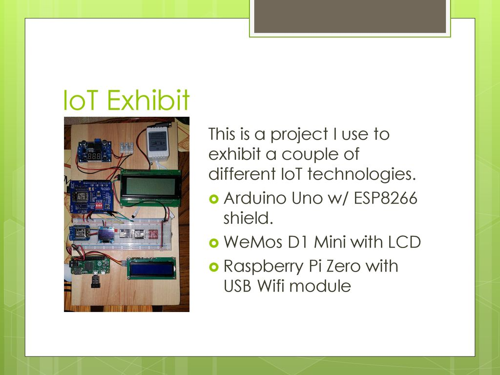 Building an Internet of Things Device - ppt download