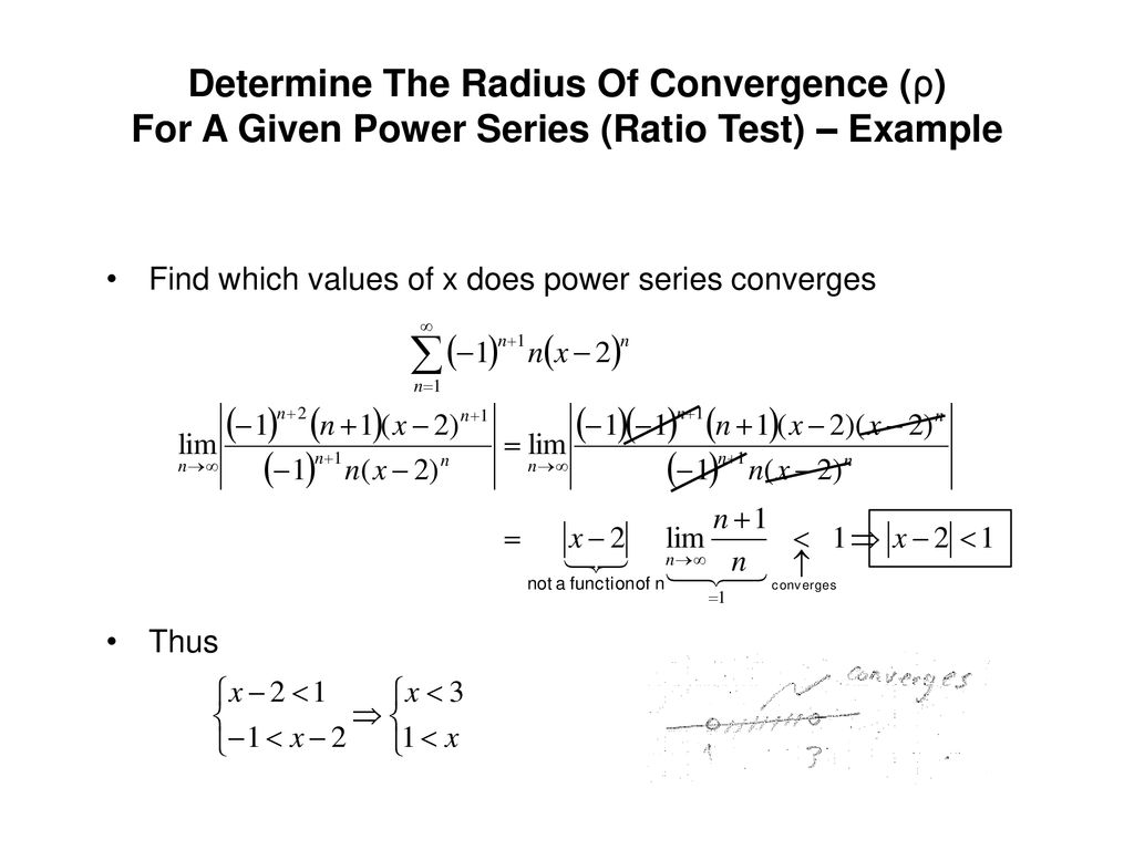 Class Notes 9: Power Series (1/3) - ppt download
