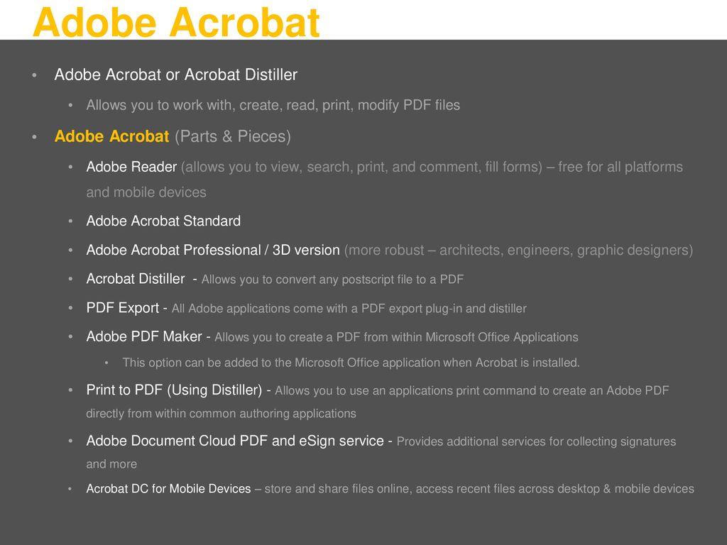 Portable Document Format PDF - ppt download
