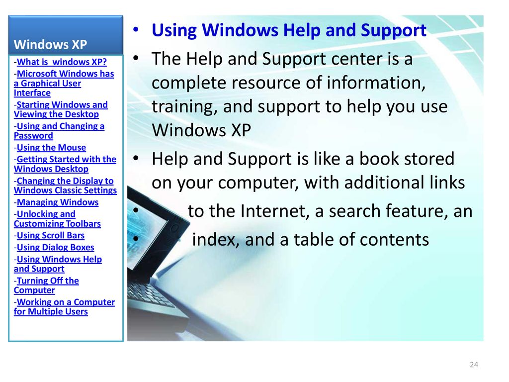 Windows xp PART 1 DR WAFAA SHRIEF  - ppt download