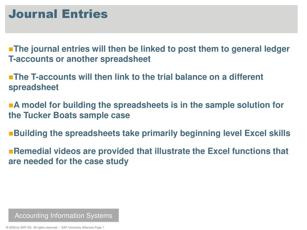 Accounting Information Systems - ppt download