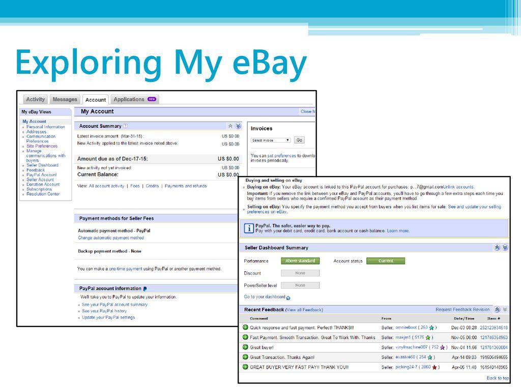 eBay Basics Phillip Schneider Information Services Librarian - ppt