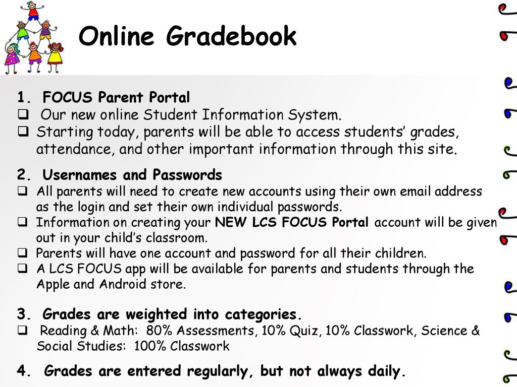 focus online grade portal