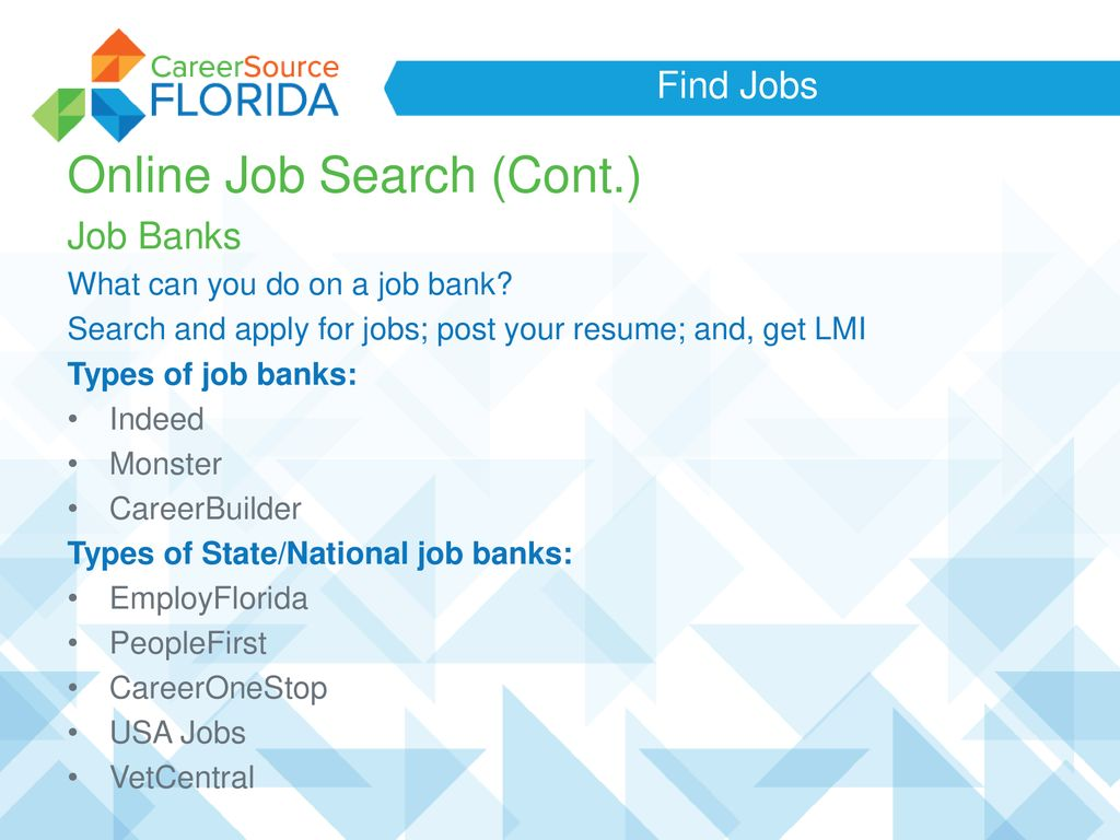 A Successful Job Search - ppt download