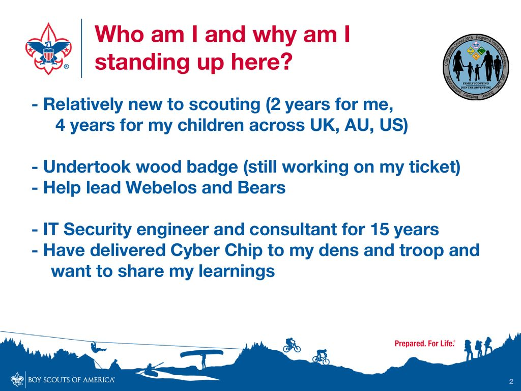 picture regarding Bsa Cyber Chip Green Card Printable called Education Net Security for Scouts (What, Why, Who and How