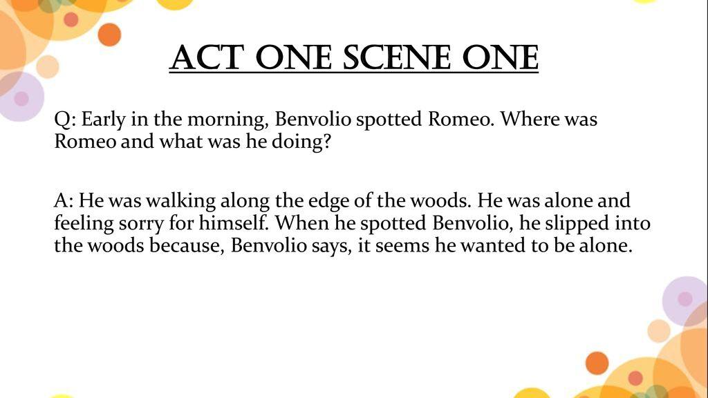 words that describe benvolio