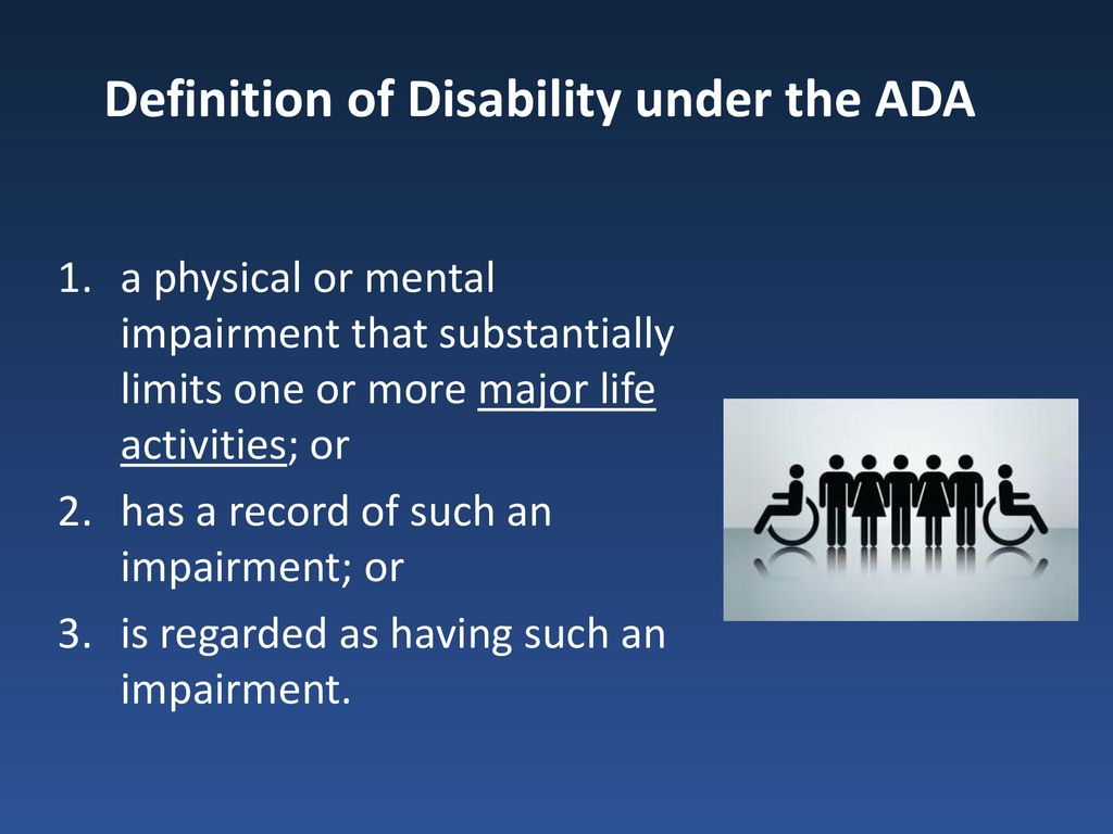 the americans with disabilities act (ada): reasonable accommodation