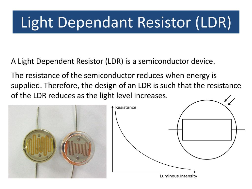 Resistance Aim Understand Calculate Resistor Values And Light Dependant Circuit 13