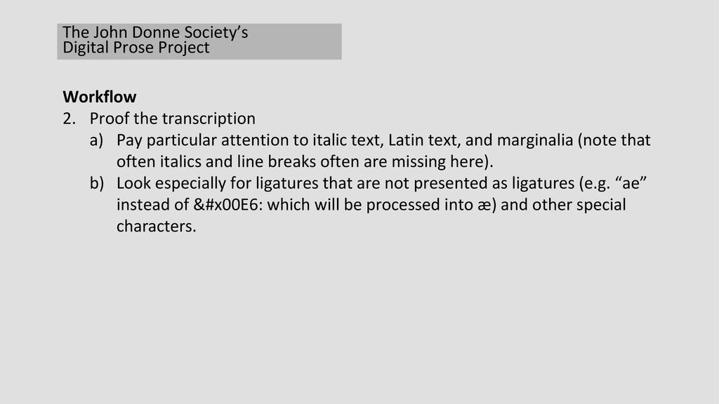 7315170598bf The John Donne Society s Digital Prose Project - ppt download
