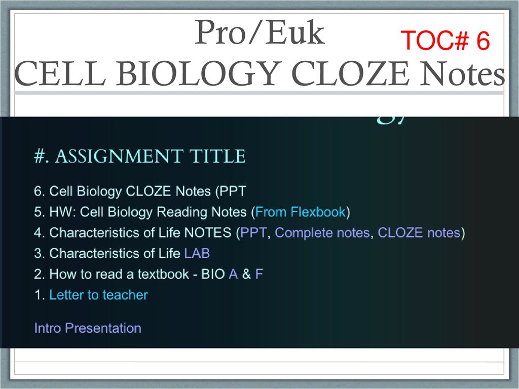 Quizlet Review of Vocabulary: Link on assignment sheet - ppt