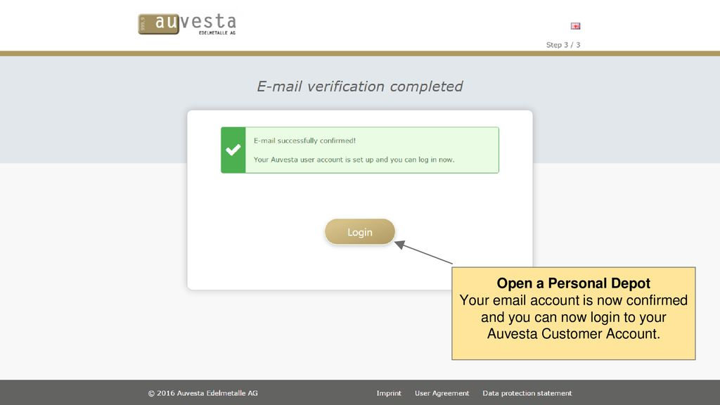 Get started with Auvesta Landing Page - ppt download