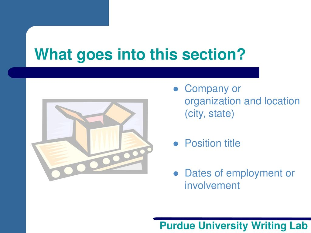 developing your resume ppt download