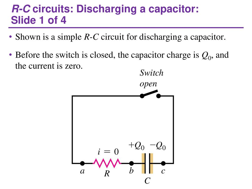 Capacitor Charging And Discharging Circuit Question Of The Day How Does General Solution To A First Order R C Circuits Slide 1 4