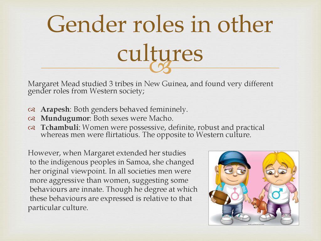 arapesh tribe gender roles